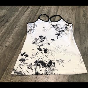 Lululemon Graphic Tank Size 8